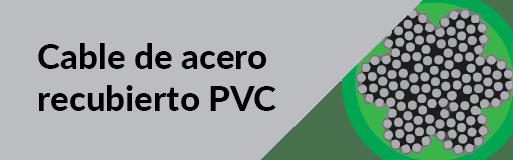 cable de acero recubierto en pvc
