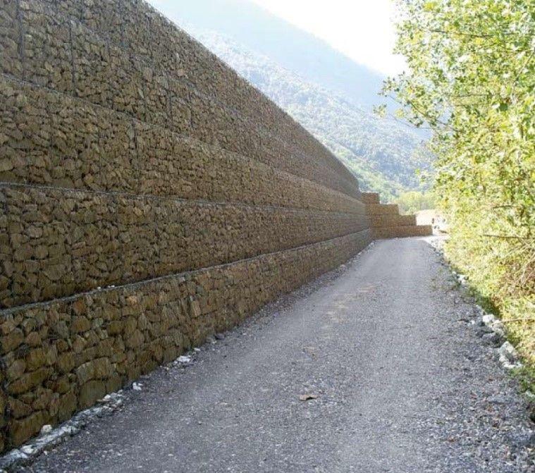 Muro de contención en carretera - FIG30